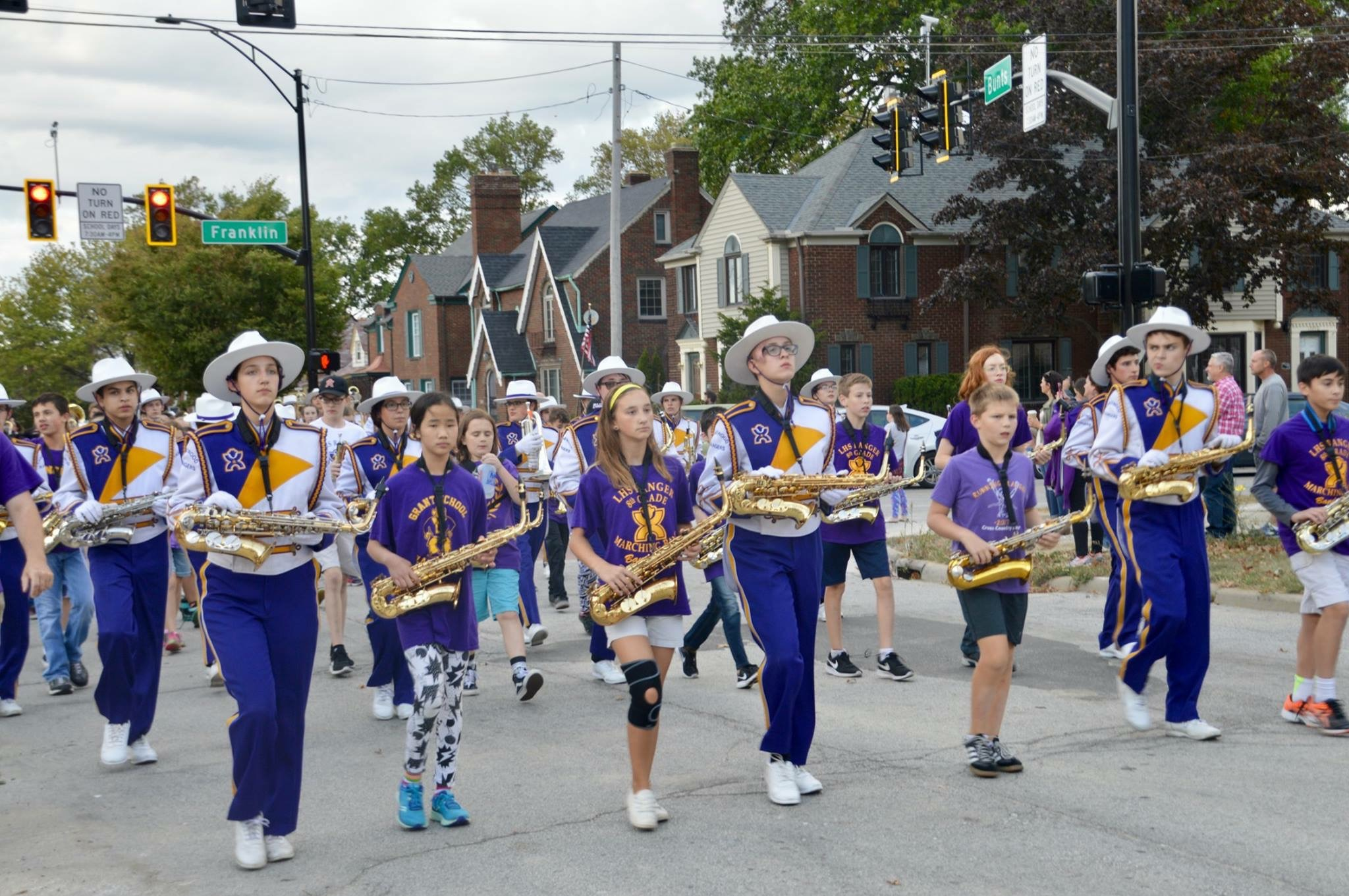 The Lakewood Ranger Marching Band